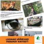 Pressiteade: Loomad väärivad paremat kaitset!